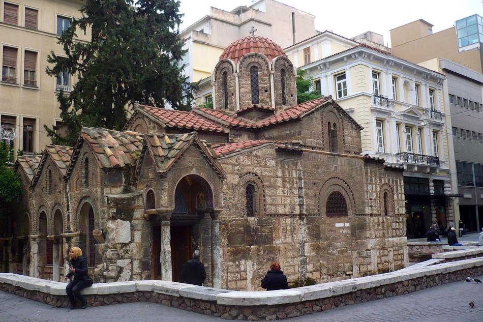 panaghia kapnikarea church ile ilgili görsel sonucu