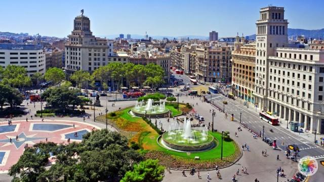 Plaça de Catalunya Barselona